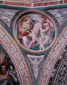 Luini, Bernardino : The Expulsion of Adam and ...