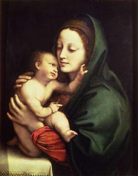 Luini, Bernardino : Madonna and child, c.1510