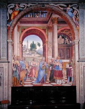 Luini, Bernardino : Presentation in the Temple