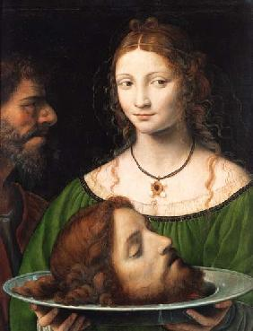 Salome with the head Johannes d.T�ufers