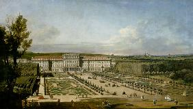 The imperial summer residence of Schönbrunn, garden side