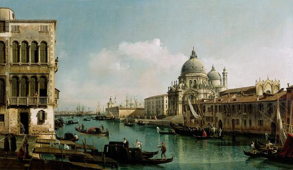 View of the Grand Canal and the Punta della Dogana