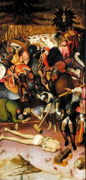 The Decapitation of St. George, panel from an altarpiece