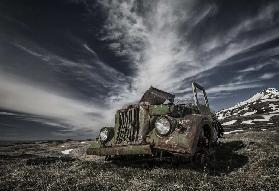 The Old Russian Jeep