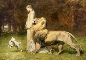 Una and the Lion, from Spenser's Faerie Queene