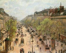 Boulevard Montmartre, Morning, Grey Day