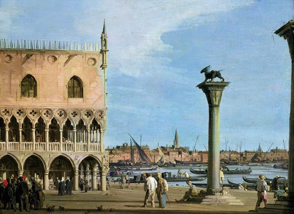 The Piazzetta di San Marco Looking South, Venice