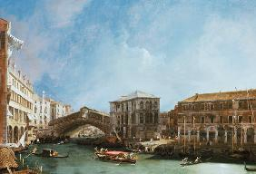 Grand Canal: The Rialto bridge from of The North