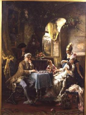 Herpfer, Carl : The Chess Players