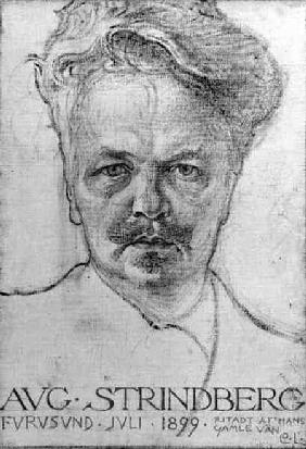 The Author August Strindberg (1849-1912)