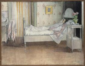 Convalescence, c.1899 (w/c on paper)