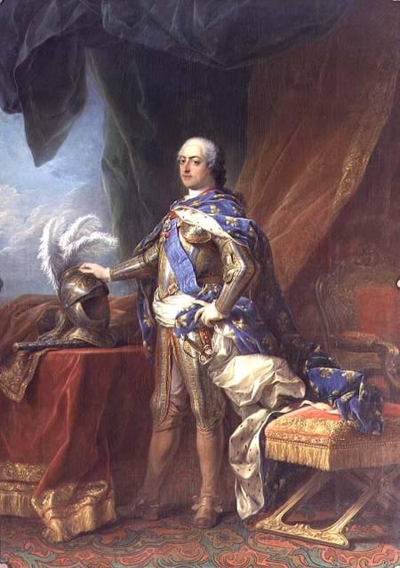 Image carle van loo louis xv 1715 74 king of france navarre