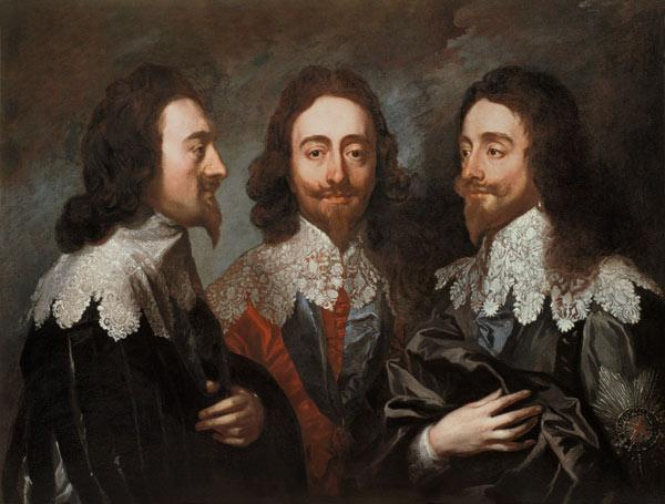 Maratta, Carlo : Charles I in Three Positio...