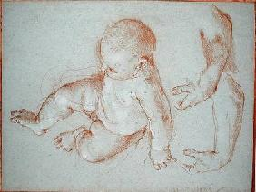 Maratta, Carlo : The Infant Romulus and two...
