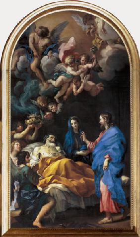 Maratta, Carlo : The Death of St. Joseph