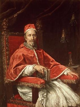 Maratta, Carlo : Portrait of Pope Clement I...