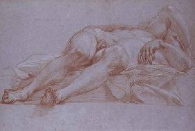 Maratta, Carlo : Study for the Figure of Si...