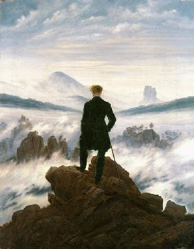 Wanderer above the Sea of Fog 1818