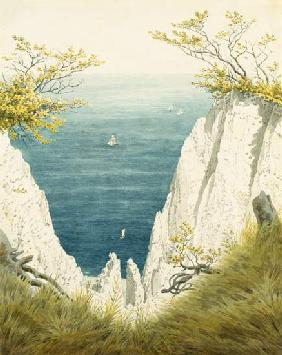 Chalk cliff on Ruegen