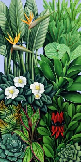 Foliage II, 2005 (oil on canvas)