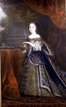Portrait of Henrietta Anne (Minette), Duchess of Orleans (1644-70), daughter of King Charles I of En