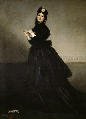 The lady with the glove (madam Carolus-Duran)