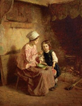 Frere, Charles Edouard : Supper Time