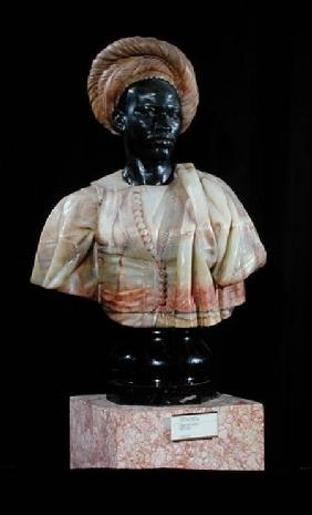 Bust of a Sudanese Man