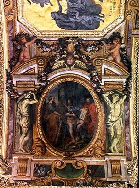 Judicial Reformation in 1667, Ceiling Painting from the Galerie des Glaces