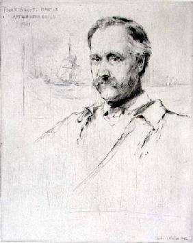 Sir Frank Short (1857-1945) painter and engraver, Master of the Art Workers' Guild in 1901