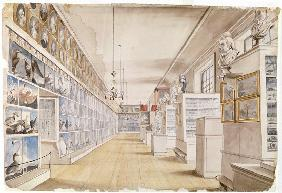 The Long Room, Interior of Front Room in Peale's Museum