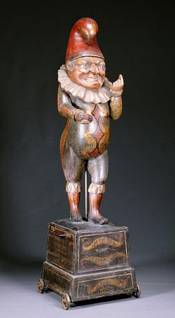 A Carved Cigar Store Figure Of ''Punch''