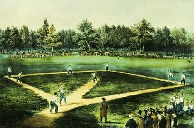 presented by Christies Artist - The American National Game Of Baseball