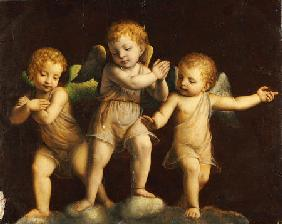 Luini, Bernardino : Three Cherubs
