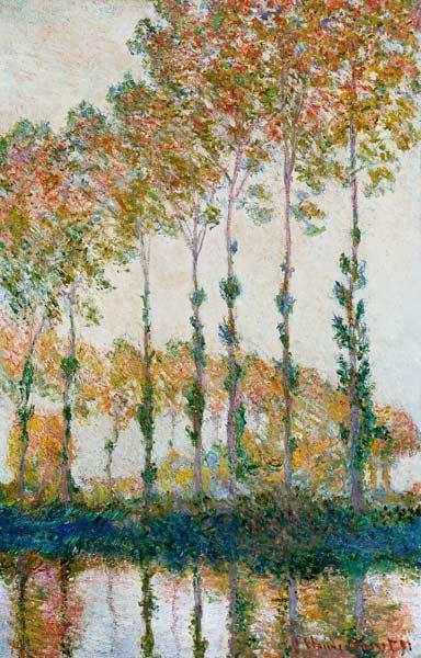 Poplars on the Banks of the Epte, Autumn 1891