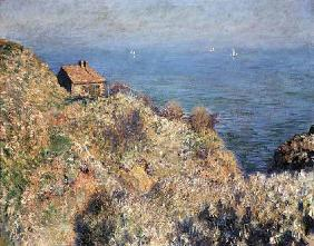Monet, Claude : The house of the Douaniers...