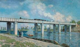 The railway bridge of Argenteuil