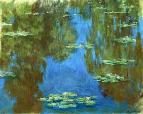 Monet, Claude : Water Lilies in Giverny