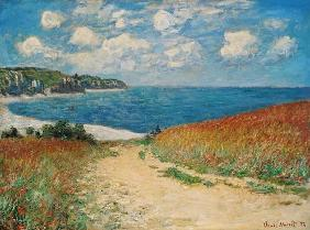 Monet, Claude : Path in the Wheat at Pourv...