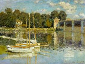 Monet, Claude : Bridge at Argenteuil