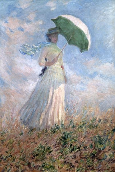 Woman with a Parasol (Susanne Hosched�) 1886
