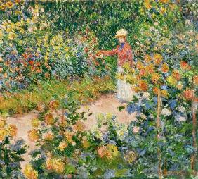 Garden at Giverny 1895