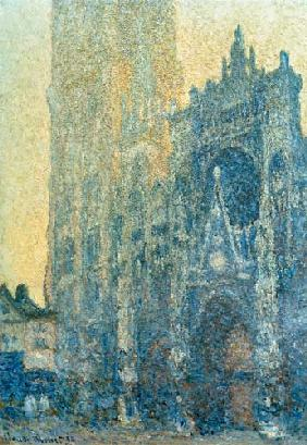 Monet, Claude : The cathedral of Rouen