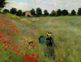 Poppies, near Argenteuil (detail)