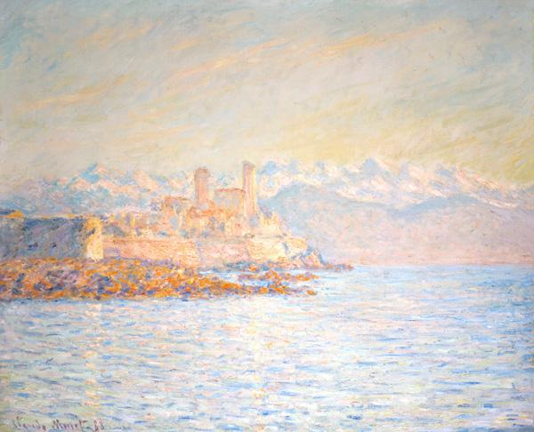 The old away at Antibes (also one: Antibes in the in the afternoon light)