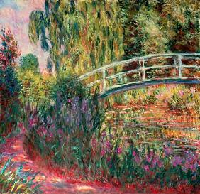 Monet, Claude : The Japanese Bridge Givern...