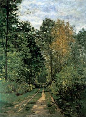 Monet, Claude : Path in the Forest