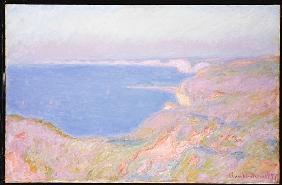 On the Cliffs near Dieppe, Sunset