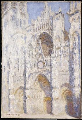Rouen Cathedral, Afternoon (The Portal, Full Sunlight) 1892-94