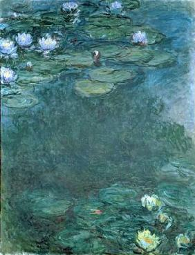 Water-Lilies (oil on canvas)